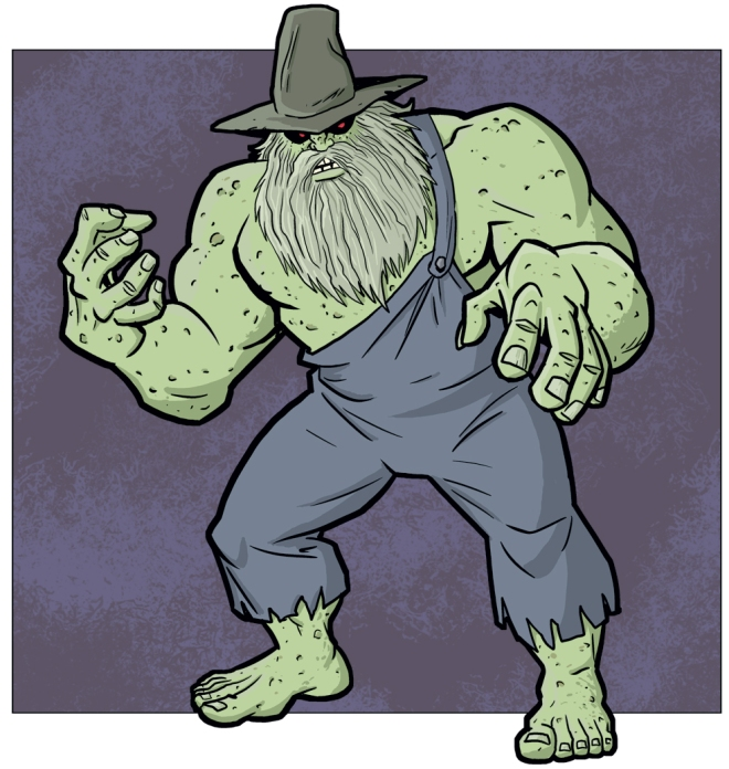 Any comic featuring a character named Hillbilly Frankenstein is a must buy in my book.